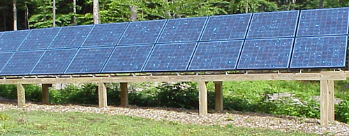 Ground Mount Solar Electric