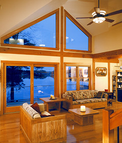 Timber Frame Construction Interior